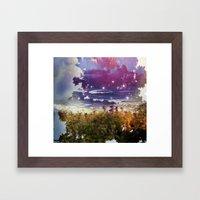 Surfing On Acid Framed Art Print