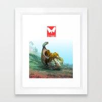 Moth Two Framed Art Print