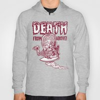 Death From Above (orange) Hoody