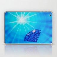 Blue Diamond Laptop & iPad Skin