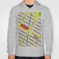 New York map design - empire state building area Hoody