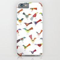 Birds Doing Bird Things iPhone 6 Slim Case