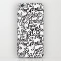 LOVE IS PATIENT... iPhone & iPod Skin