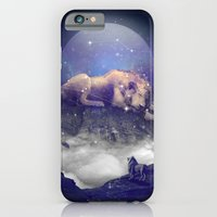 iPhone Cases featuring Under the Stars III (Leo) by soaring anchor designs