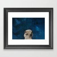 Hippo on the Tropic of Capricorn  Framed Art Print