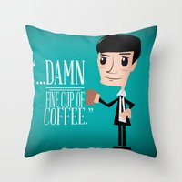 Agent Cooper Throw Pillow