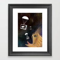 Media Control Framed Art Print