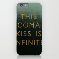 iPhone Cases featuring Coma Kiss  by Tina Crespo