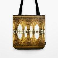 Mont-Saint-Michel Cloist… Tote Bag
