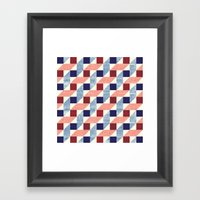Lightly Bauhaus Framed Art Print