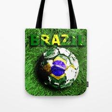Old football (Brazil) Tote Bag