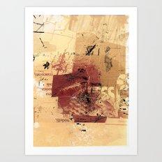 misprint 98 Art Print
