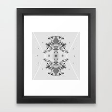i ii iii iv  Framed Art Print