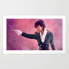 Purple Rain (prince) Art Print