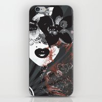 Abstract Woman iPhone & iPod Skin