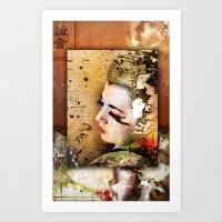 Triade (revised) Art Print