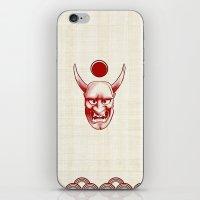 Oni Over The Sea iPhone & iPod Skin