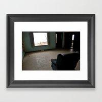 Abandoned Teal Nunnery C… Framed Art Print