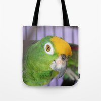 Polly Want A Cracker? Tote Bag