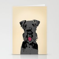 Kerry Blue Terrier Dog Stationery Cards