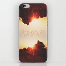 All of the Praise iPhone & iPod Skin