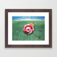 New Year Ball Framed Art Print