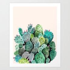 Desert Princess Art Print
