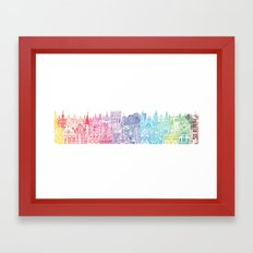 Belgium Towers  Framed Art Print