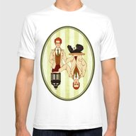 T-shirt featuring The Bird Or The Cage? by Arekay