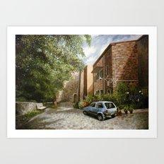 Castel del Piano Art Print