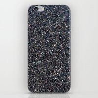 Black Sand I iPhone & iPod Skin