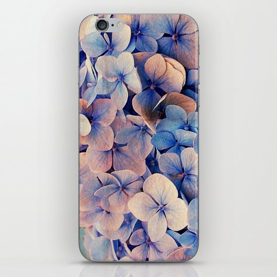 Blue Dreams iPhone & iPod Skin