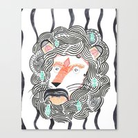 Listen To Your Lion Canvas Print