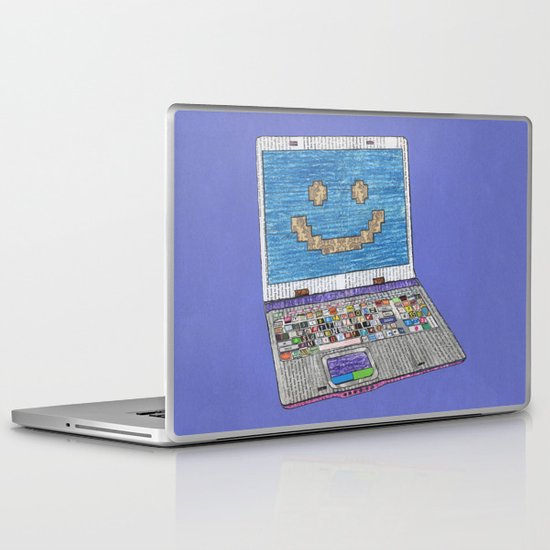 press WIN Laptop & iPad Skin