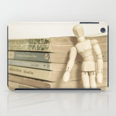 Little man books iPad Case