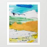 Garden Of The Gods / Pik… Art Print