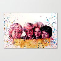 Hey You Guys! Canvas Print