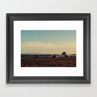 The Paddock Framed Art Print