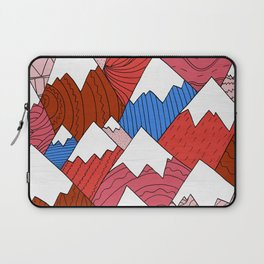 Laptop Sleeve - The Red Mountains (Pattern) -  Steve Wade ( Swade)