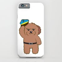 iPhone & iPod Case featuring Poodle Police by Tetchan