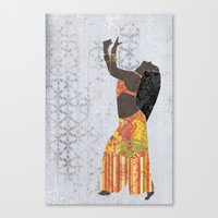 Belly Dancer 11 Canvas Print