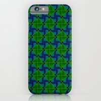 Green Parquet iPhone 6 Slim Case