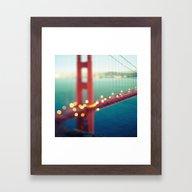 Meet Me In San Francisco Framed Art Print