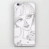Joanie iPhone & iPod Skin