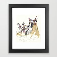 Dear dear Framed Art Print