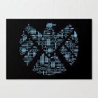 Alien Agents Canvas Print