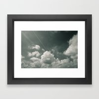 Sea of Cloud Framed Art Print