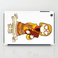 My log has something to tell you iPad Case