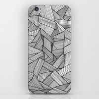 Straight Lines iPhone & iPod Skin
