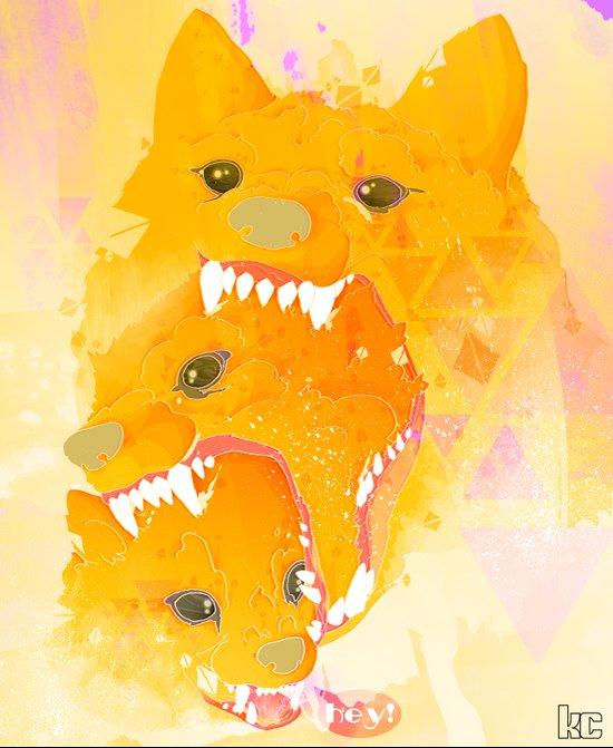 Rewolf! Canvas Print